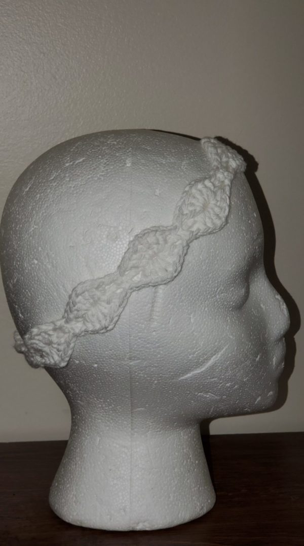 White Head Band