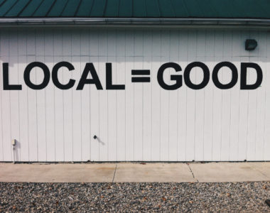 Shopping local is good for local businesses