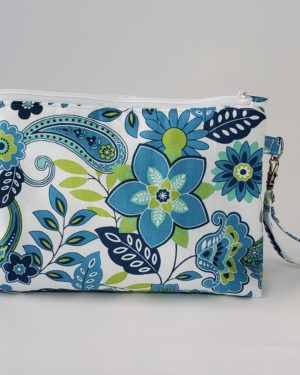 Flower Design Necessaire Bag