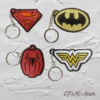 Super Heroes Keychains